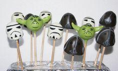 Cake pops Star Wars