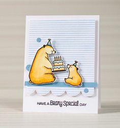 Simple Smiling Cards: Birthday Bears