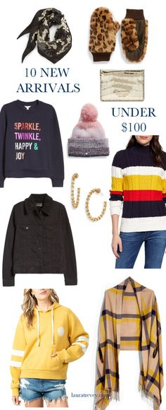 10 New Arrivals Under $100 | Laura Trevey Holiday