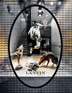 "LANVIN,""Dancing with Wolves"", pinned by Ton van der Veer"
