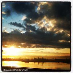 Everett Washington, sunrise.