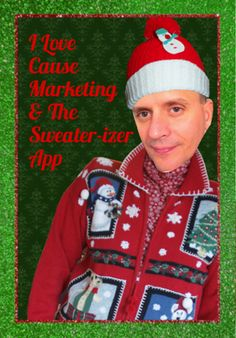 """3 Holiday Cause Promotions Bringing Good Cheer by @JoeWaters on @Razoo.com features the Sweater-izer App and """"Sweater-ize For A Cause"""" by @FunIsTheAnswer Download the FREE """"Sweater-izer"""" App here and join the Fun for GOOD:  http://funistheanswer.com/sweater-izer/"""