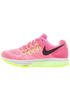 AIR ZOOM VOMERO 10 - Cushioned running shoes - pink pow black liquid lime  volt 851667a77d