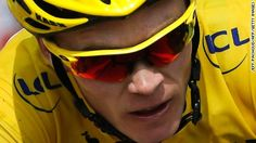 Overall leader's yellow jersey Britain's Christopher Froome (R) rides ahead of Colombia's Nairo Quintana during the 242.5 km fifteenth stage of the 100th edition of the Tour de France cycling race on July 14, 2013 between Givors and Mont Ventoux, southeastern France.
