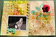 mini-album by Vouchka (more on her blog)