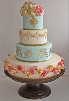 The Cake That Ate Paris | The Bride's Tree - Sunshine Coast Wedding