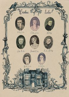 Wuthering Heights Family Tree. - Design Crush