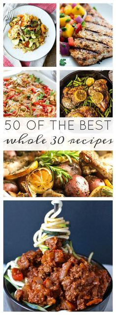 50 of the best Whole30 Recipes