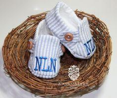Custom Order and Monogrammed Baby Boy by KarenMarieDesignsNJ, $28.00