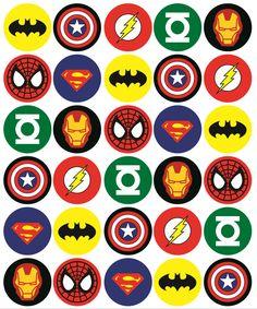 icu ~ Pin on Kids birthday Avenger ~ 30 Mixed Superhero Cupcake Toppers Rice Card Cake Fairy Birthdays Pre Cut Superman Birthday Party, Avengers Birthday, Superhero Party, Superhero Cupcake Toppers, Superhero Cake Pops, Avenger Cupcakes, Avenger Cake, Superhero Symbols, Superman Cakes