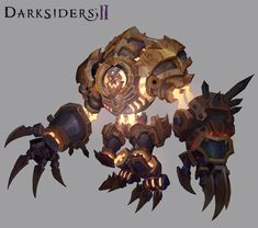 Darksiders II Monster by CorruptedDeath.deviantart.com on @deviantART