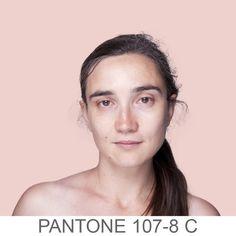 Humanae - Pantone Skin Color Art