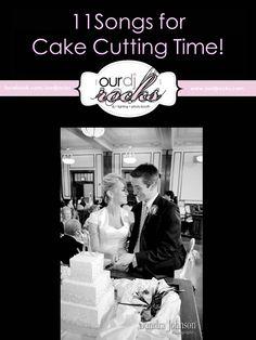 Wedding Songs, Reception songs, cake cutting songs, songs for cake cutting suggestions by www.ourdjrocks.com - DJ Lighting and Photobooth company in Orlando. Photo by Sandra Johnson Photography