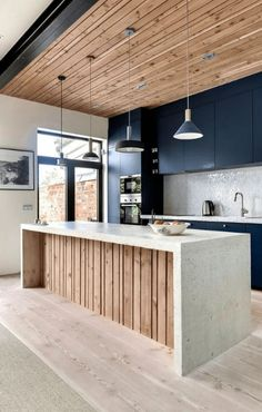 31 Modern Kitchen Concepts Every House Cook Demands to See - Home Design Inspiration Stylish Kitchen, Modern Kitchen Design, Interior Design Kitchen, Kitchen Designs, Modern Kitchens, Diy Interior, Contemporary Kitchens, Industrial Kitchen Design, Modern Bar
