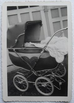 Vintage pram. I Like you so much, and I've only now worked up the courage to…