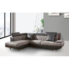 Beverly Fine Furniture Xena Sectional & Reviews | Wayfair.ca