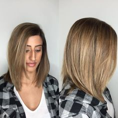 Blended Balayage with babylights