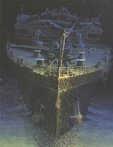 8cfba075 Titanic Wreck Inside - Bing images | shipwrecks | Titanic wreck ...