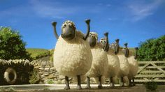 Resultado de imagen para sheep gif