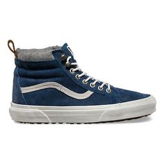 Find denim shoes at Vans. Shop for denim shoes, popular shoe styles, clothing, accessories, and much more! Denim Sneakers, Denim Shoes, Sneakers Fashion, Shoes Sneakers, Blue Sneakers, Top Shoes, High Top Vans, High Top Sneakers, High Tops