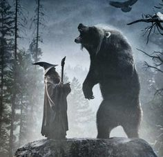 BEORN!!! Cannot WAIT to see him in the new Hobbit movie!!!!