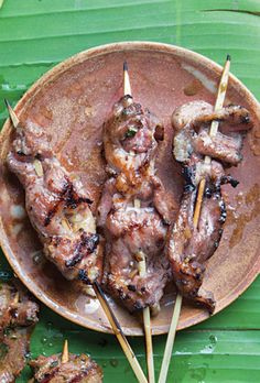 Lemongrass Pork Satay