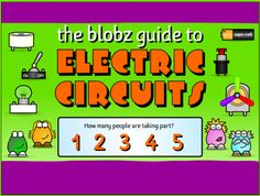 The Blobz Guide - Teach Simple Electronic Circuits To Children