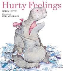 Hurty Feelings Book Cover photo