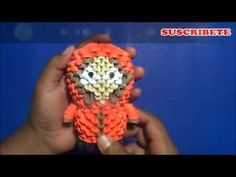 Origami 3D Kenny (South Park) origami tutorial, 3d origami south park instructions