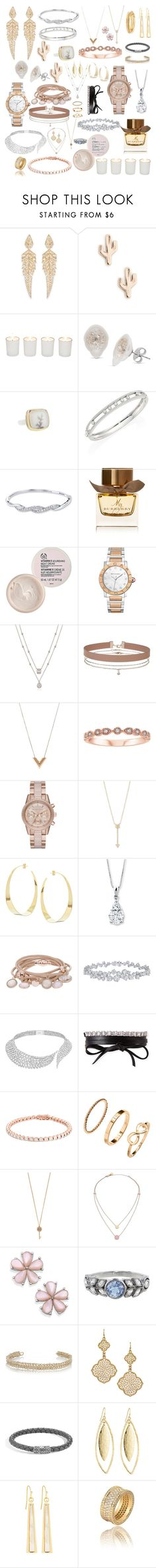 """""""Favorites"""" by brittcmidfielder ❤ liked on Polyvore featuring Stephen Webster, Sole Society, Witchery, Jamie Joseph, Messika, Burberry, The Body Shop, Bulgari, Miss Selfridge and Louis Vuitton"""