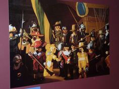 Rembrandt's Nightwatch in PlayMobile