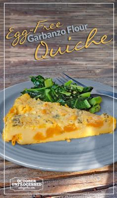 Loaded with flavor, this quiche is plant-based, cruelty-free, and climate-friendly.