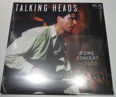 Nu in de Catawiki veilingen: Talking Heads - Rome Concert 1980 * 2LP