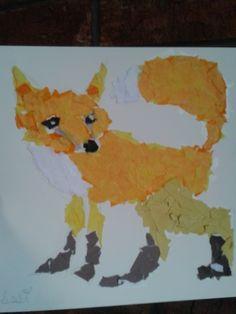 Desert animal collage lesson and more: Memmott's Art Ideas- integrated art lesson plans for K-4th grade