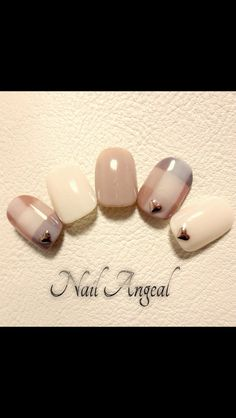 Japanese nail are so pretty Fancy Nails, Love Nails, Diy Nails, Pretty Nails, Fabulous Nails, Perfect Nails, Nagel Hacks, Kawaii Nails, Japanese Nail Art