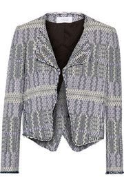 10 Crosby by Derek Lam Cotton-blend tweed blazer