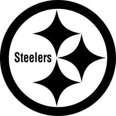 Pittsburgh Steelers Football Logo Custom Vinyl by VinylGrafix Car Stickers, Car Decals, Vinyl Wall Decals, Sports Decals, Monogram Stickers, Pittsburgh Steelers Logo, Steelers Football, Steelers Stuff, Pittsburgh Tattoo