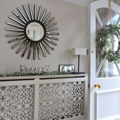 that entry/hall table is stunning... and the door!