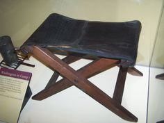 George Washington's Personal Camp Stool That He Used During the Revolutionary War