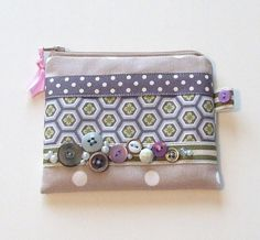 Vintage Button Coin Purse by nataliefarrell on Etsy, $16.50