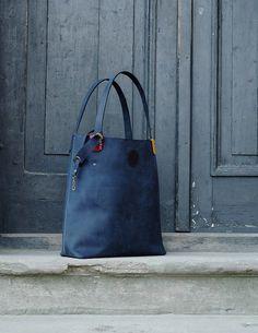 torebka torba skórzana oryginalna ręcznie robiona - ladybuqartstudio - Torby na ramię