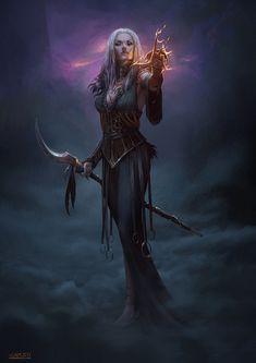 ArtStation - The Witch, Cristi Balanescu