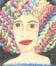 Color Black Power - Lápis aquarelável