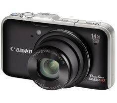 CANON PowerShot SX230 HS - noir, Pixmania.com