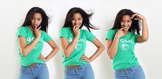 Este mês contamos com o rosto da Armanda para a campanha GOML do mês de Agosto.A Armanda Monteiro é uma jovem modelo que acaba de ganhar o passatempo que a marca #goml fez em parceria com a agência GO Models em Lisboa. Esta campanha tem como objectivo promover as t-shirts dos modelos de desfile