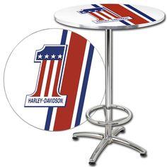 $179.99 Harley-Davidson Pub Table #gameroom #table #harley
