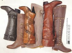 Something I like about winter ... boots. http://thesavvvyshopper.blogspot.com/2011/11/are-you-ready-boots.html