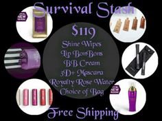 NEW YOUNIQUE FALL COLLECTION SURVIAL STASH! Everytbing you need including…