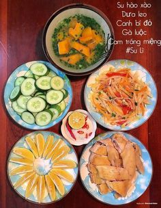 Home Meals, Daily Meals, Food Design, Fresh Rolls, Vietnam, Menu, Traditional, Cooking, Health