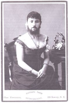 1870s cross dressing male. Cross dressing has always been how some people express their true gender. It's not new. Biddy Craft